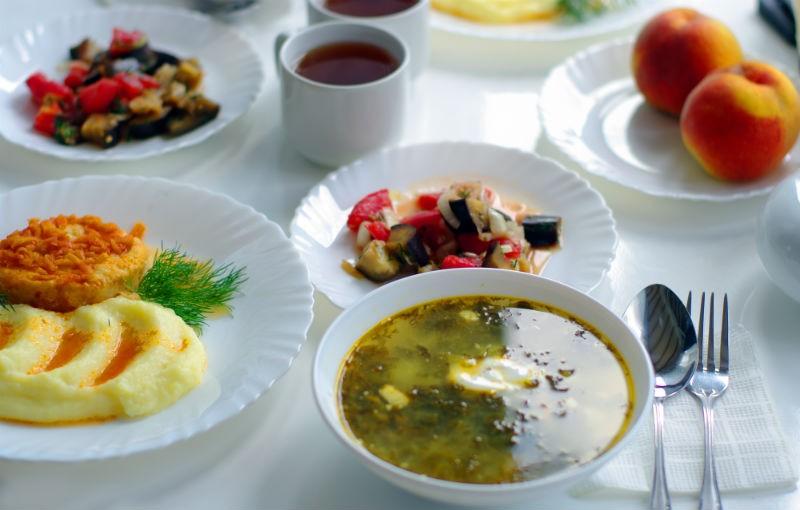 хорошее питание пансионата