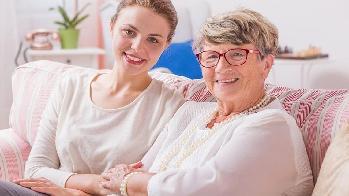 уход за слепыми стариками